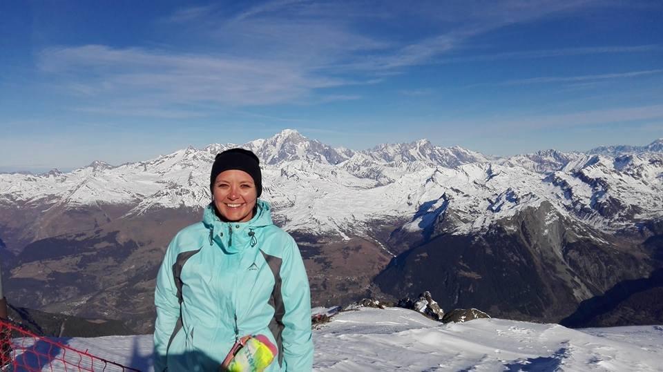 Lindsay Zietsman - Skiing in Europe